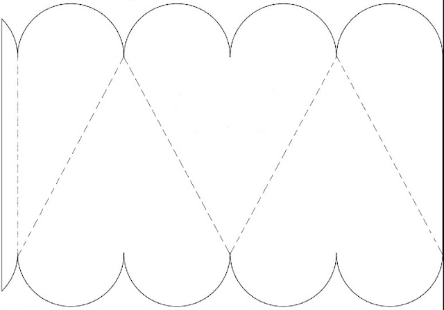 ZONA DE MANUALIDADES: Caja en forma de Corazón