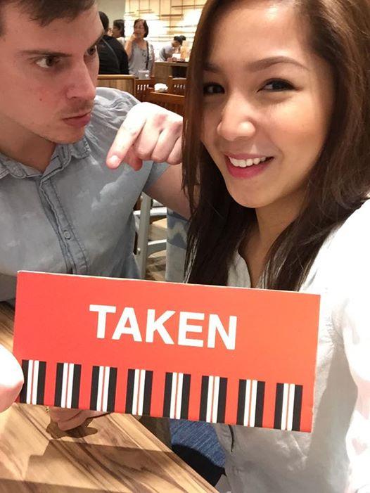 Dawn Chang with ex-boyfriend Cameron