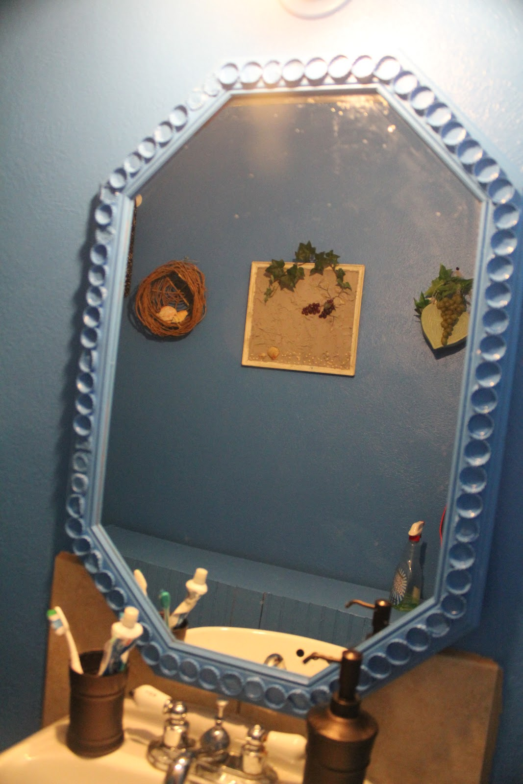 Bottle Cap Mirror