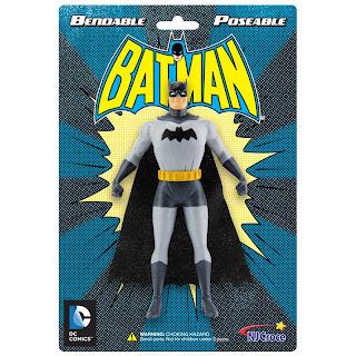 NJ Croche DC Comic Bendy Batman Figure