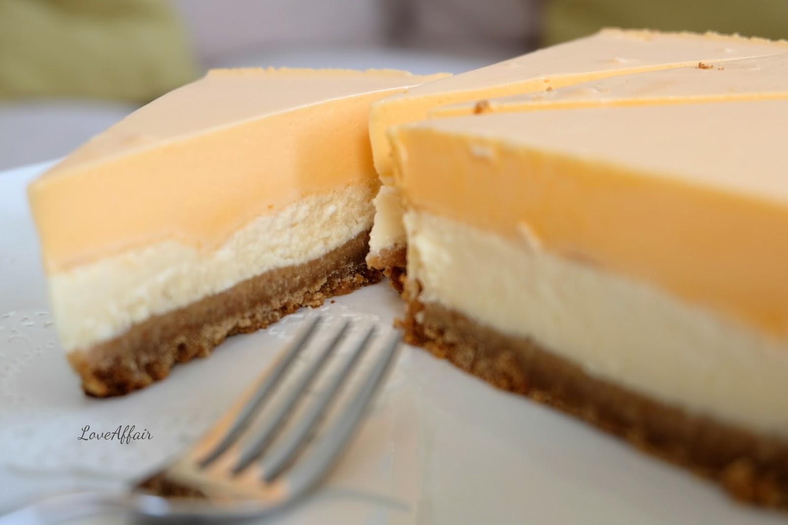 LoveAffair Cakes by mirela …: Cheesecake od narance ...