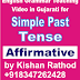 Simple Past Tense in English Grammar - Affirmative