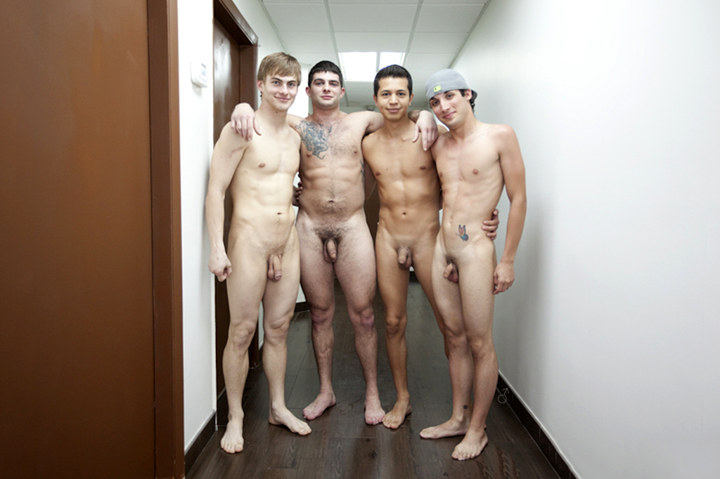 Group pictures of naked men something