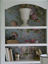 Fabric Backed Bookcases!