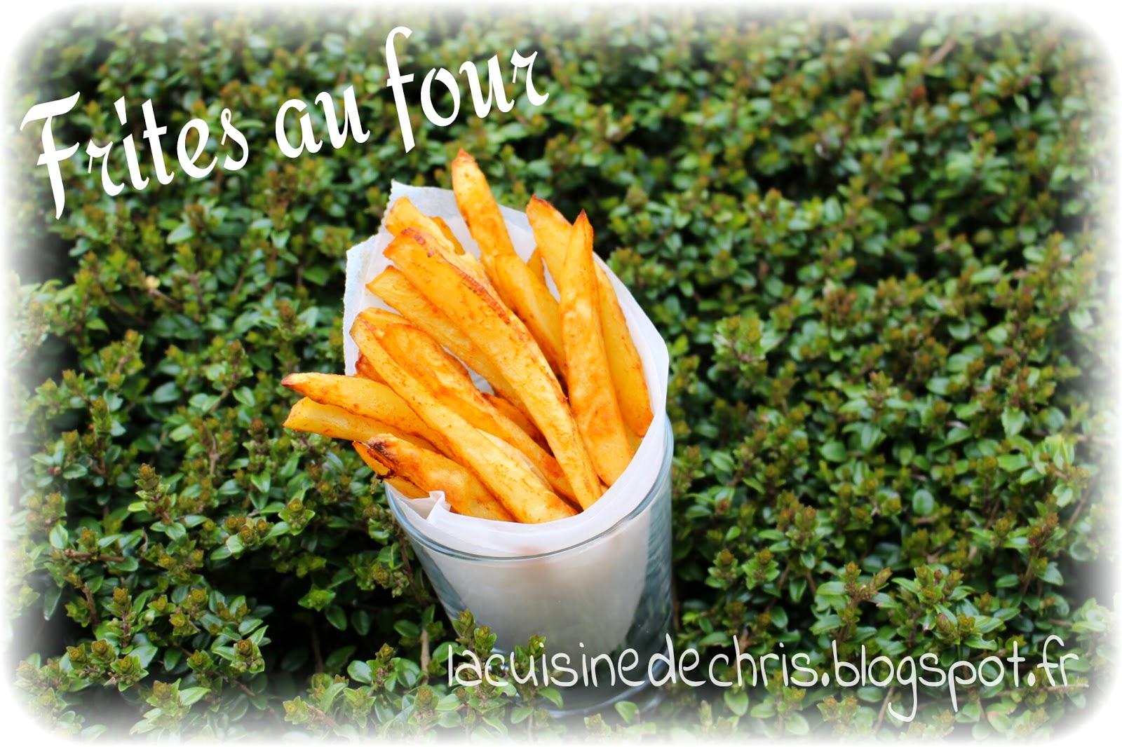 La cuisine de chris frites au four sans friteuse - Frites pour friteuse au four ...