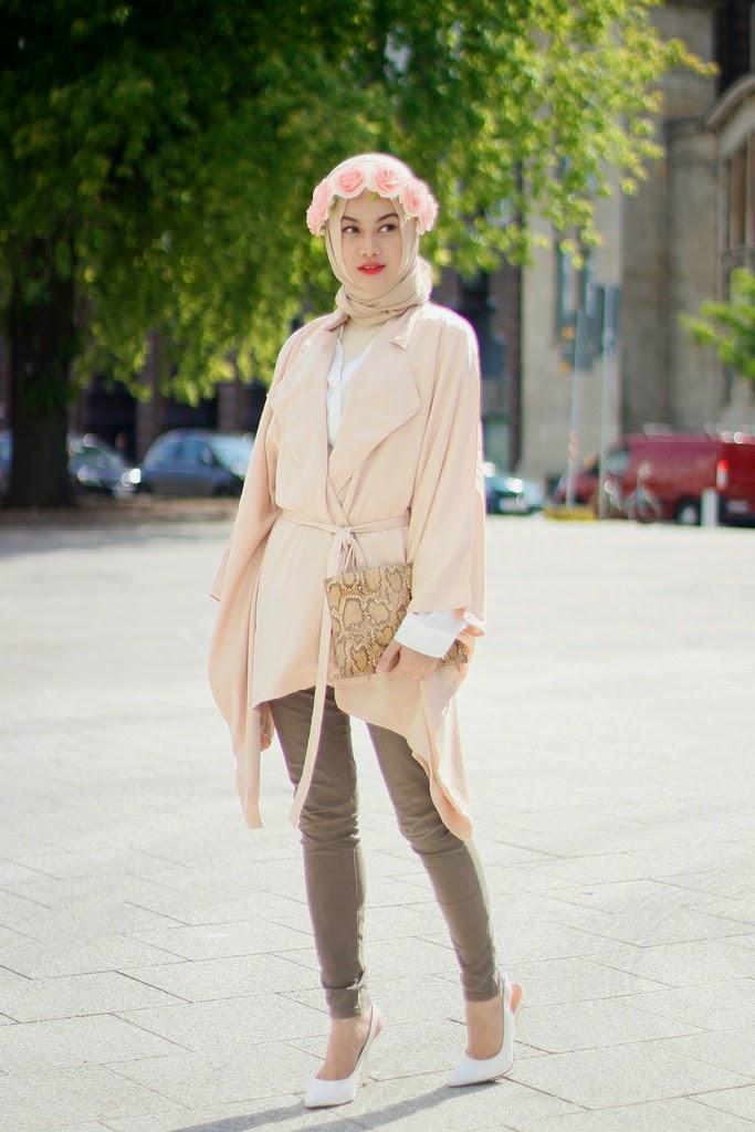 Model Hijab Terbaru Indah Nada Puspita Cantik Fashionable dan Trendi ...
