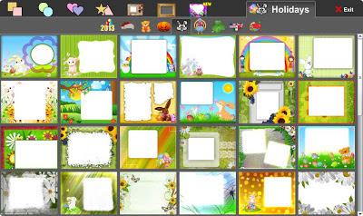 шаблоны для коллажей в сервисе Make a Collage бесплатного онлайн фото редактора piZap для новичков