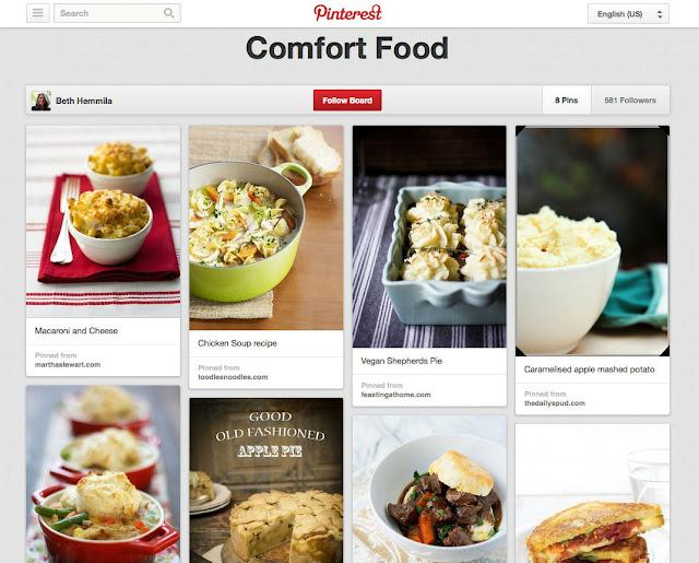 comfort food recipes breakup break up divorce love loss pinterest