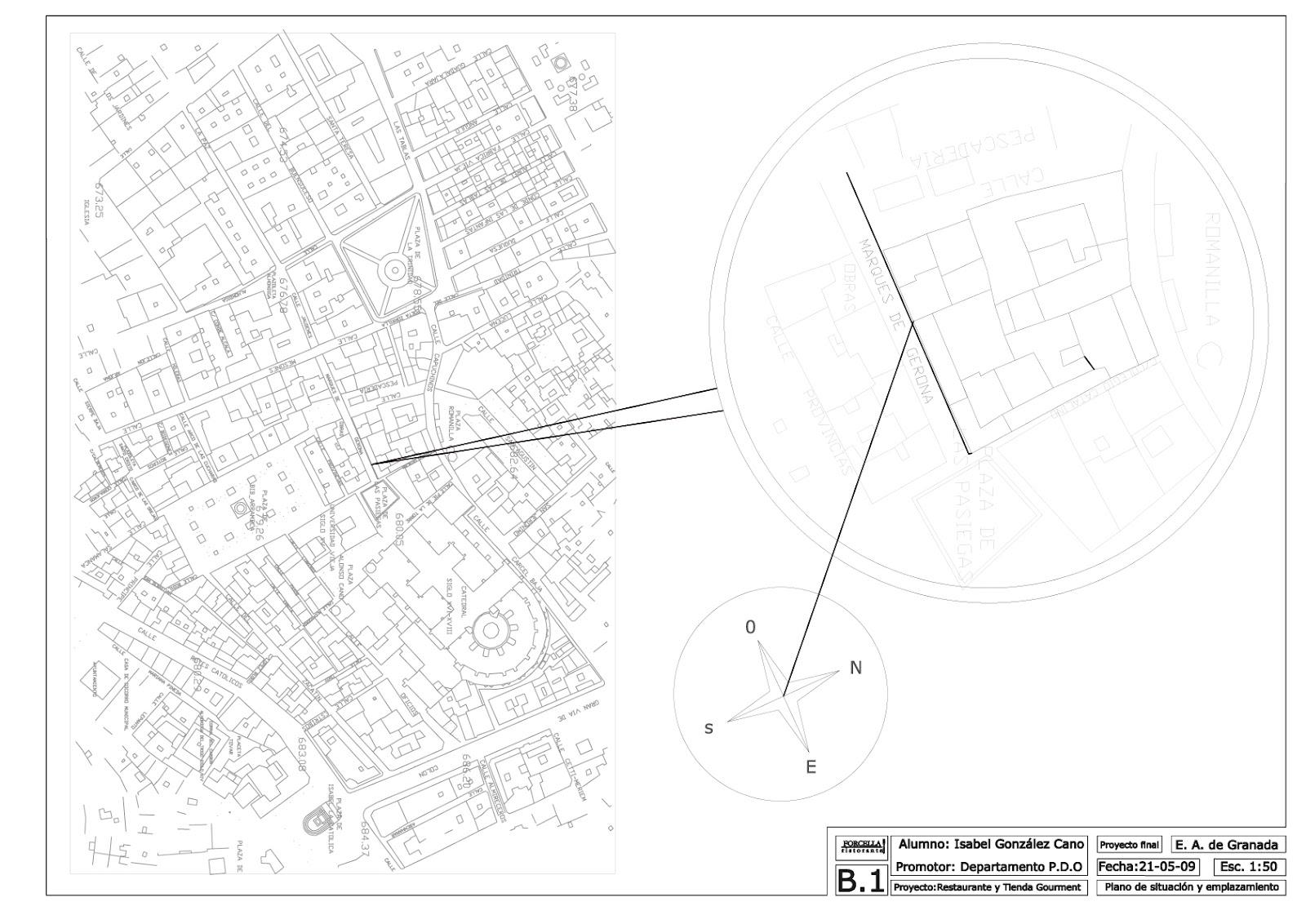 Visi n interiorista proyecto de interiorismo planos for Plano b mobilia