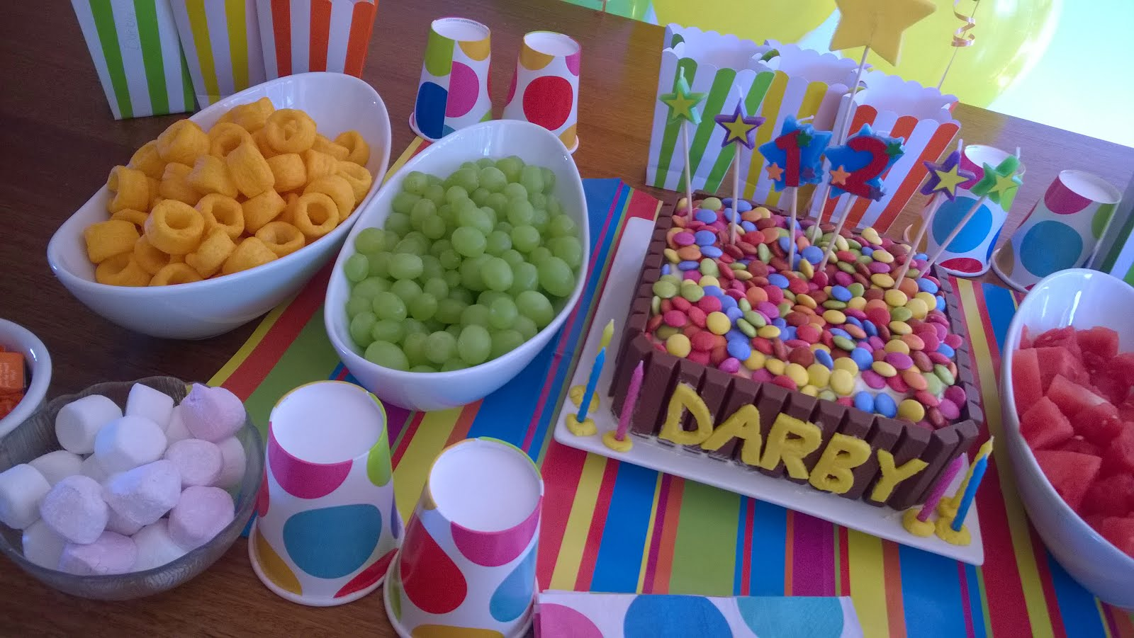 A dotty themed birthday bash