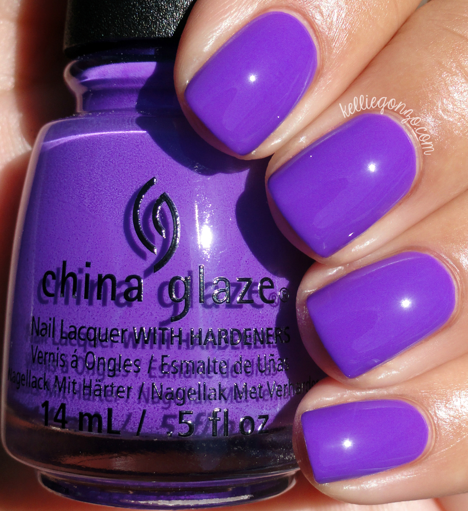 China Glaze PLUR-ple Electric Nights