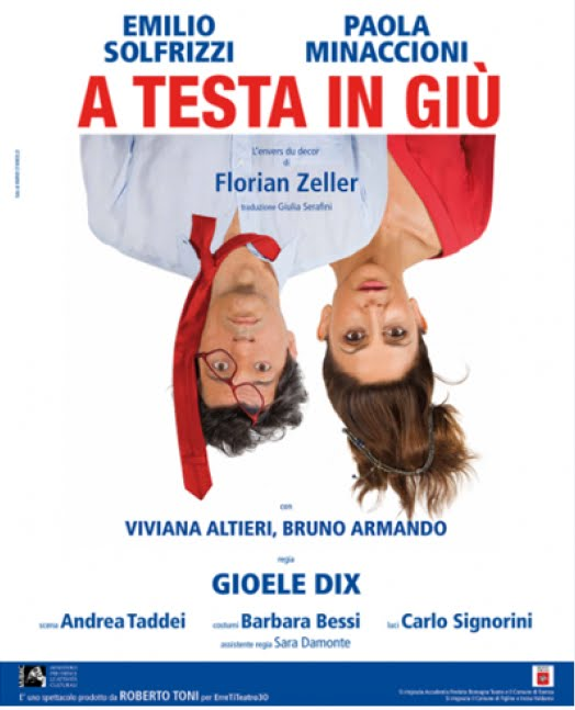 """""""A TESTA IN GIU'"""" regia di Gioele Dix"""