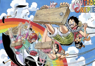 Luffy+Team Baca Komik One Piece 707 Bahasa Indonesia 708