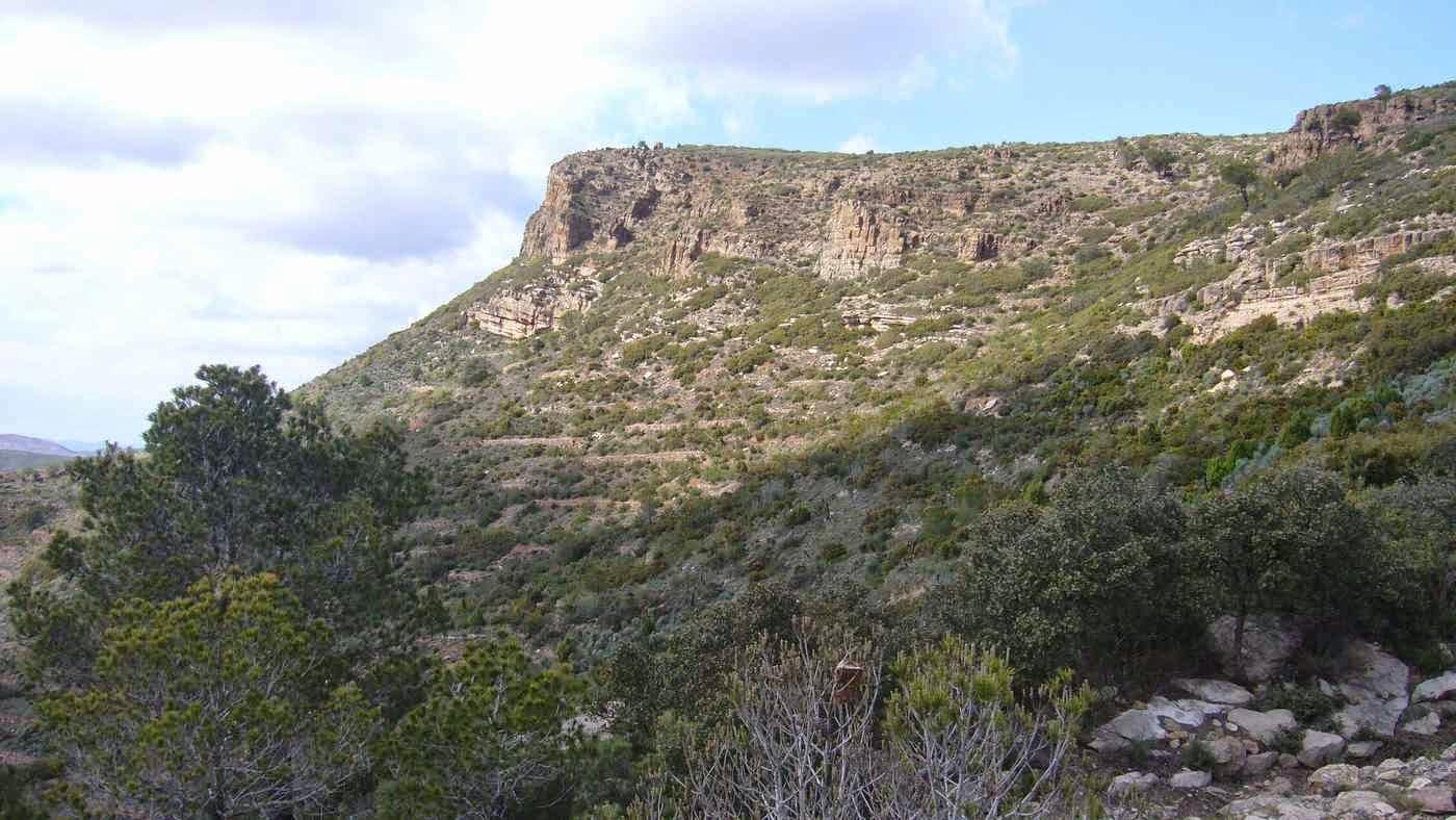 Perfil del Pico del Águila, Gátova