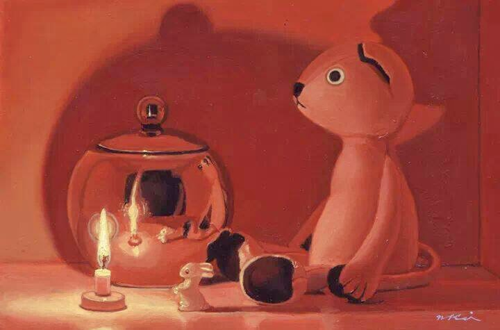 keigo nakamura candle & bear I
