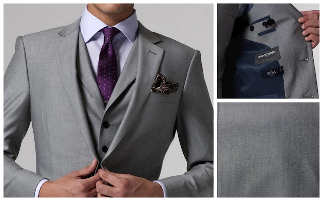 Expired indochino deal alert vincero suit 2 free for Grey shirt and tie combinations
