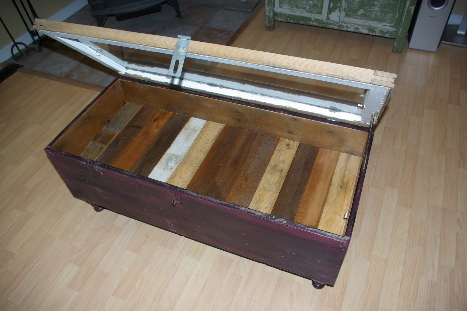 Reclaimed Rustics Vintage Window Coffee Table