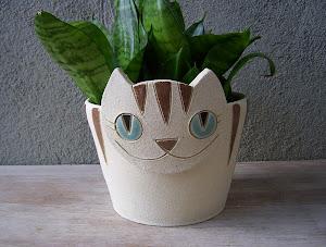 Gato Cachepot (pote 11)