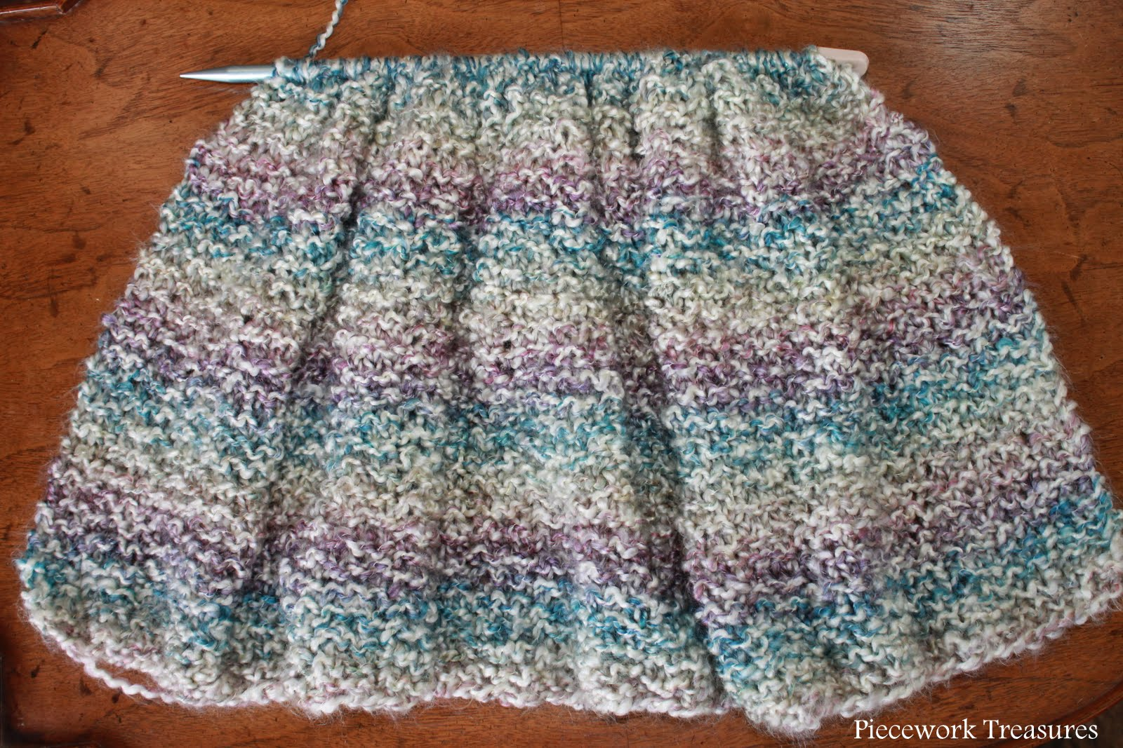Lisas Carolina Handmade: a new trinity stitch pattern prayer shawl sta...