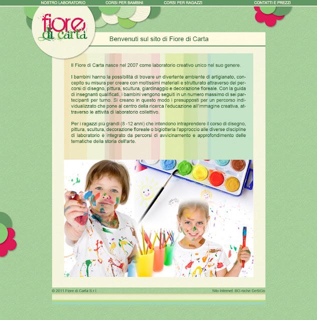 Laboratorio Creativo - Corsi per Bambini - sito internet