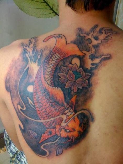 Hình Xăm Nghệ Thuật trên lưng đẹp độc nhất cho cả nam và nữ