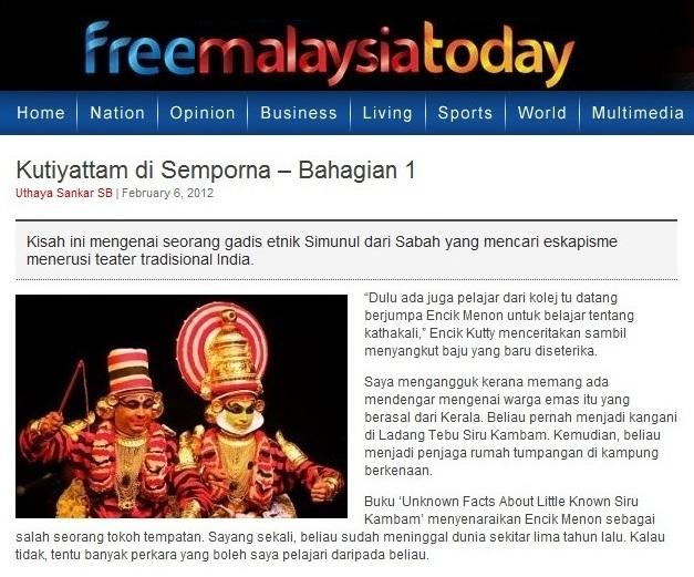 Kisah ini mengenai seorang gadis etnik Simunul dari Sabah yang ...