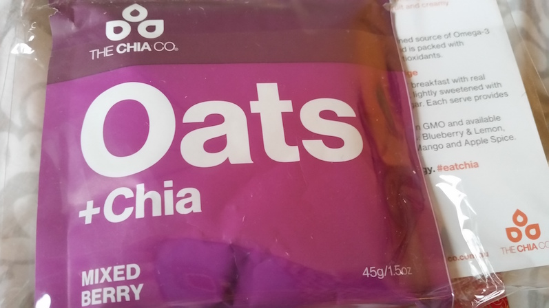 The Chia Co. Oats + Chia in Mixed Berry - Birchbox February 2015