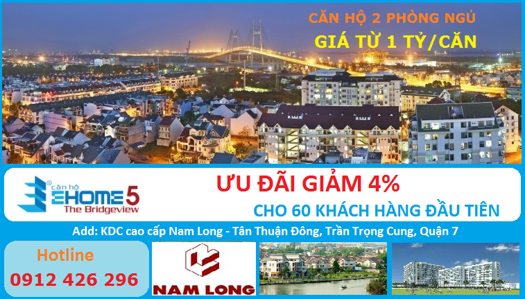 căn hộ Ehome 5, Ehome 5, Ehome 5 The Bridgeview