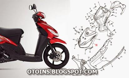 Daftar Harga Sparepart Yamaha Mio Sporty