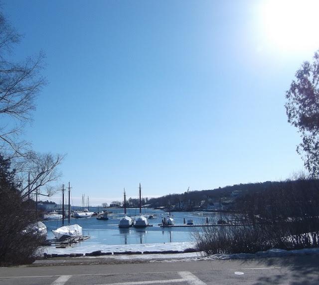 Camden Maine Winter