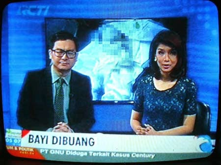 News Anchor RCTI
