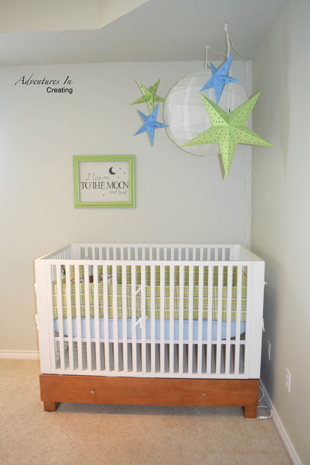 adventures in creating a nursery that 39 s over the moon. Black Bedroom Furniture Sets. Home Design Ideas