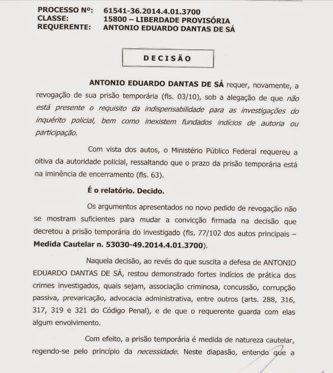 Preso pela PF, vereador Eduardo Sá tem pedido de liberdade negado