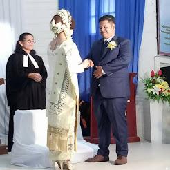 Sukses Pernikahan Frans Abednego Saragih Manihuruk dengan Erni Br Girsang