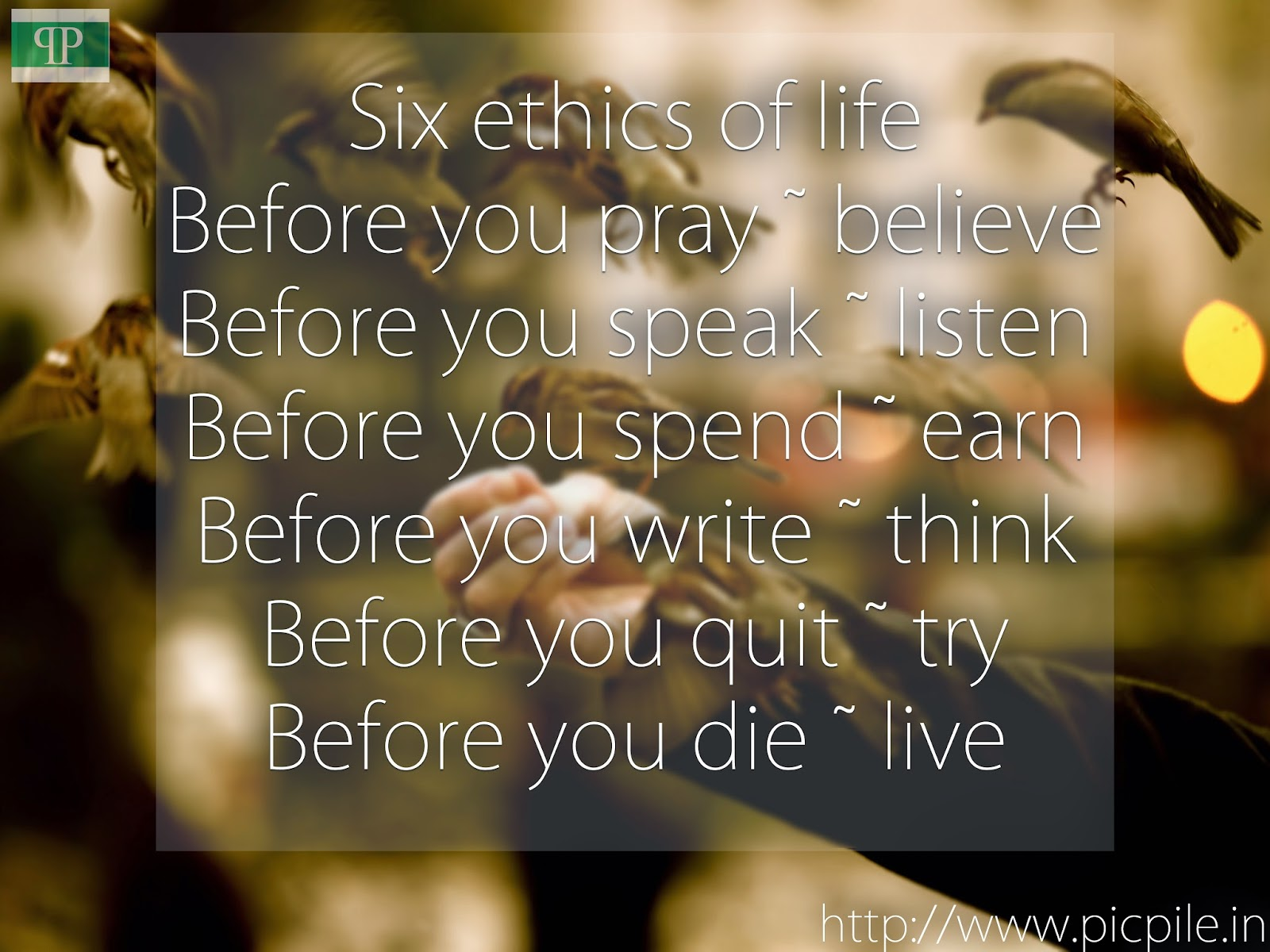 wallpapers images picpile six ethics of life that we may apply