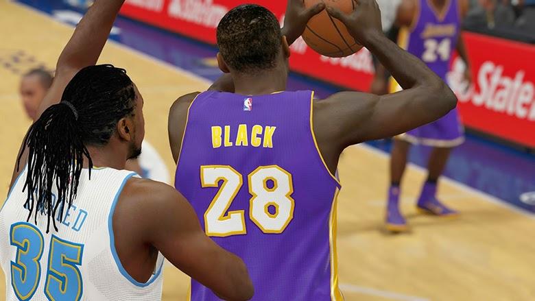 NBA 2K15 Roster Update - Tarik Black to Lakers