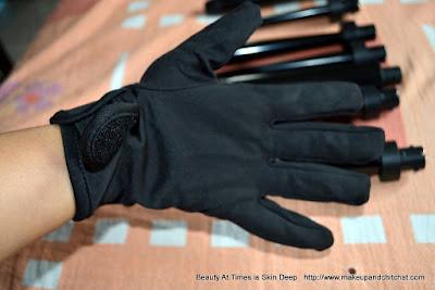 Irresistible me 8-in-1 Sapphire Hair Curling Kit Glove