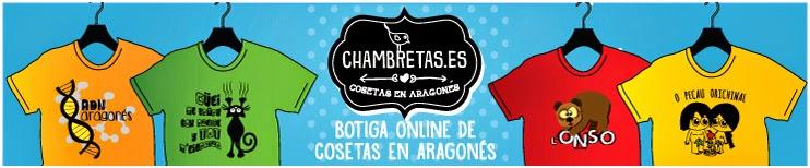 Camisetas en aragonés