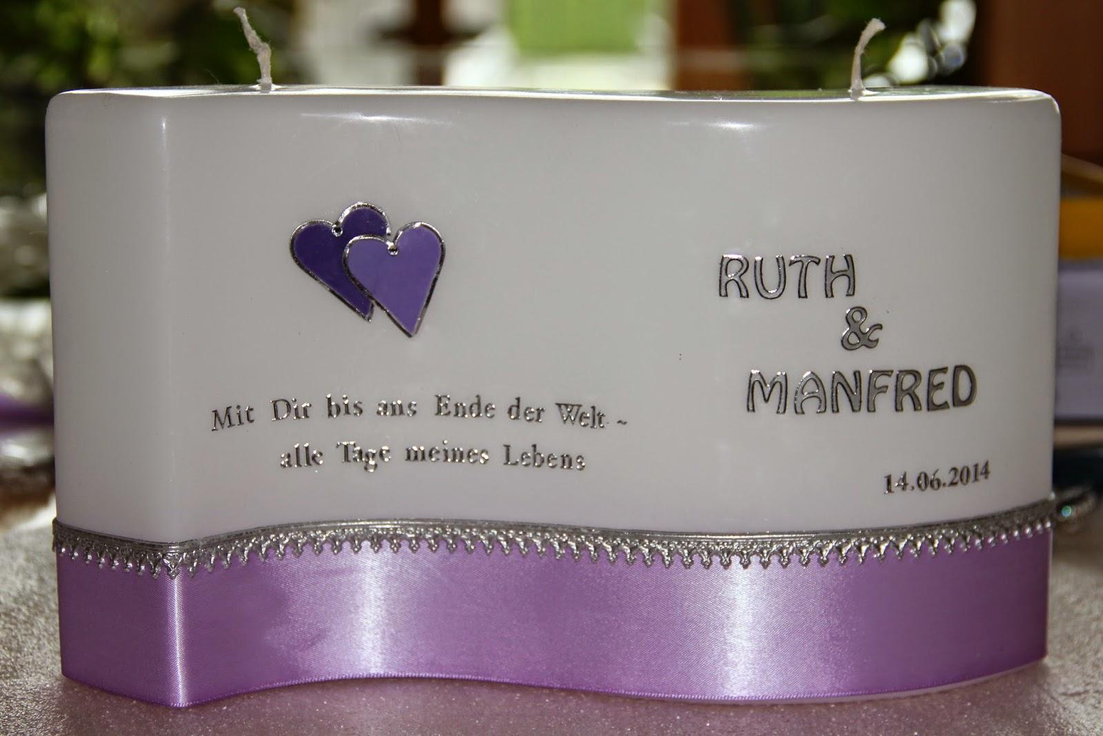 Spruch Zur Hochzeitskerze