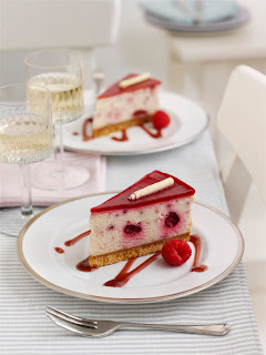 Tesco Raspberry and White Chocolate Cheesecake Wedges