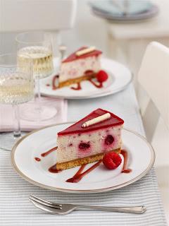 Tesco Raspberry and White Chocolate Cheesecake Wedges