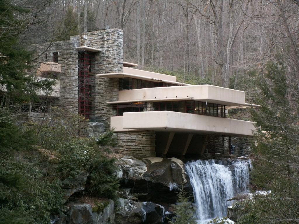 Elzwear Falling Water By Frank Lloyd Wright