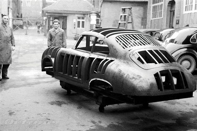 Handverker Porsche 356 Buck
