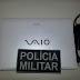 PM recupera Notebook oriundo de furto em Icapuí