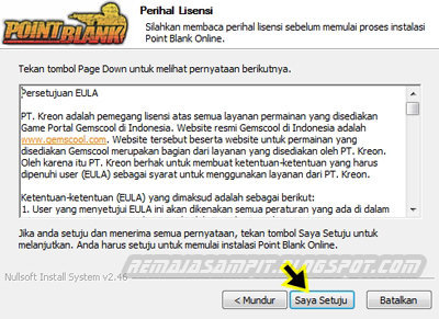 Cara Install Point Blank di Laptop