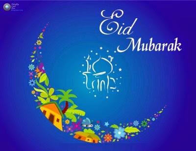 Gambar Ucapan Lebaran 2014 Selamat Idul Fitri 1435H Happy Eid Mubarak