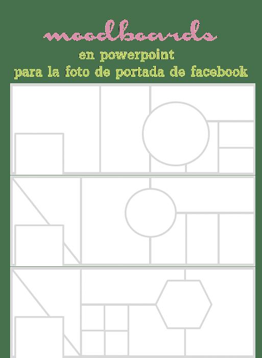 template plantilla moodboard