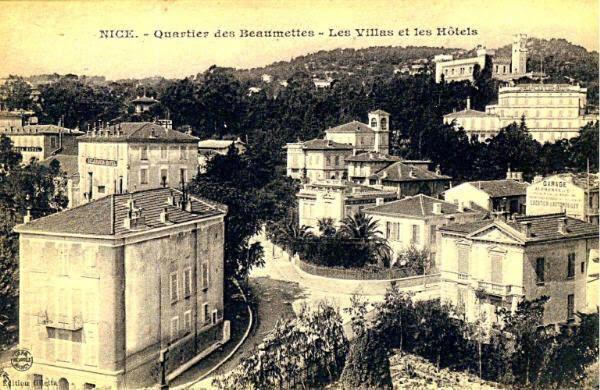 Le quartier des Baumettes à Nice