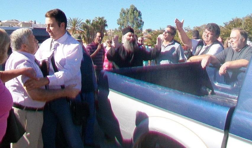 Θλιβερό επεισόδιο στην Ερμιόνη μεταξύ Ορθοδόξων χριστιανών και Μαρτύρων του Ιεχωβά...