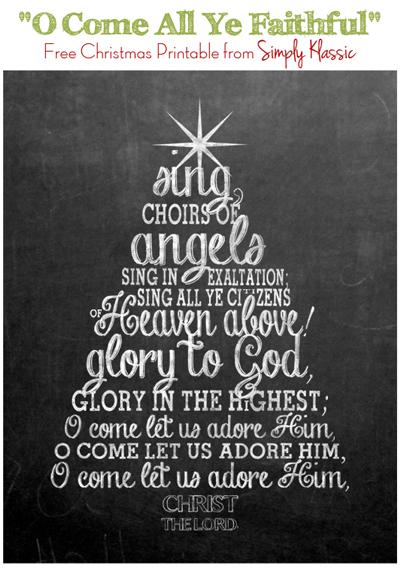 christmas prinatble